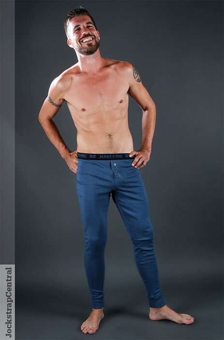 jsc nasty pig long johns blue