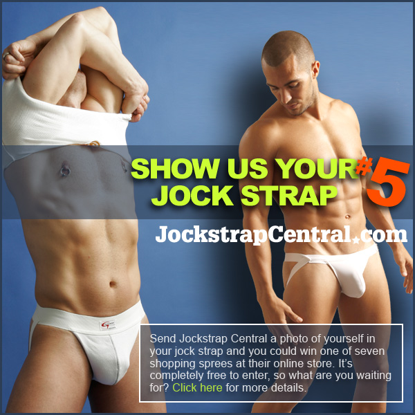 "Jockstrap Central ""show us your jockstrap"" competition"